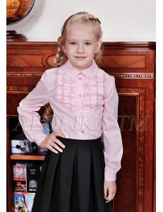 """Блузка для девочек розового цвета """"Даная"""""""